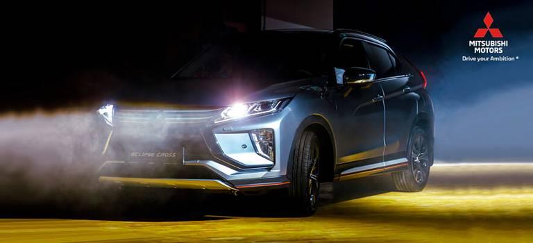Премьера нового Mitsubishi Eclipse Cross вИнновационном культурном центре г.Калуги