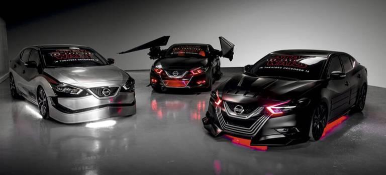 Nissan представил шесть автомобилей встиле Звездных войн