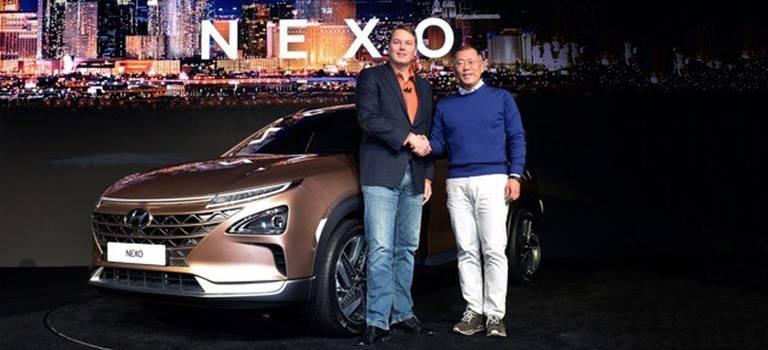 Hyundai NEXO— вавангарде передовых технологий