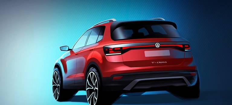 Компакт Volkswagen T-Cross покажет себя осенью