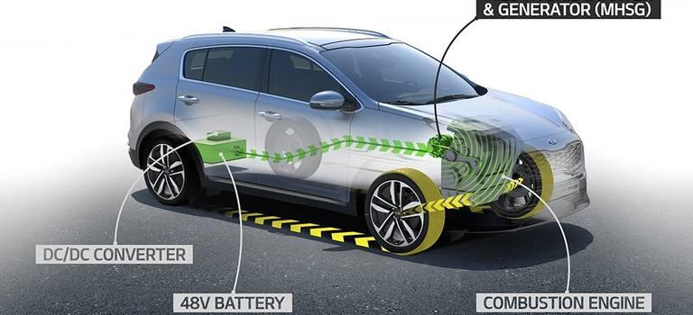 KIA в2018 году начнет выпуск дизельного двигателя стехнологией «мягкого гибрида»