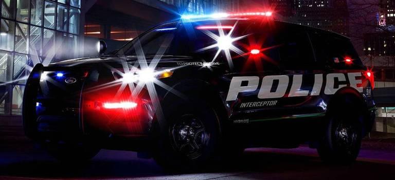 Полицейская версия Ford Explorer
