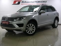 Volkswagen Touareg 2015 г. (серебряный)