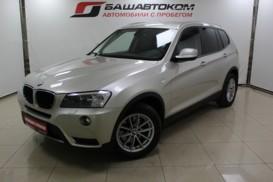 BMW X3 2012 г. (серый)
