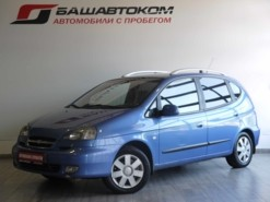 Chevrolet Rezzo 2007 г. (синий)
