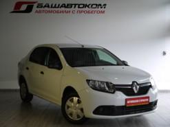 Renault Logan 2016 г. (белый)