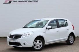 Renault Sandero 2014 г. (белый)