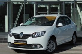 Renault Logan 2018 г. (белый)