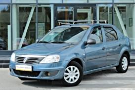 Renault Logan 2010 г. (синий)
