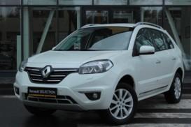 Renault Koleos 2014 г. (белый)