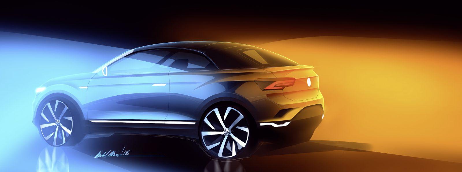 Volkswagen представит новый кросс-кабриолет